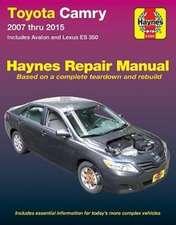 Toyota Camry & Avalon & Lexus ES 350 (2007-2015) Haynes Repair Manual (USA)