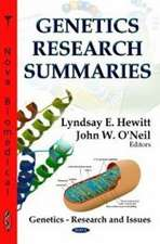 Genetics Research Summaries
