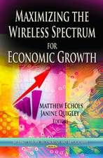 Maximizing the Wireless Spectrum for Economic Growth