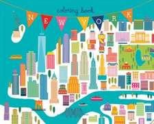 New York Coloring Book:  Mini Edition