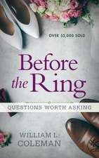 Before the Ring: Questions Worth Asking