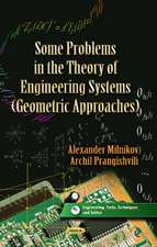 Some Problems in the Theory of Engineering Systems