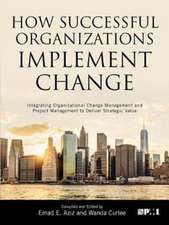 How Successful Organizations Implement Change