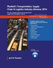 Plunkett's Transportation, Supply Chain & Logistics Industry Almanac 2016