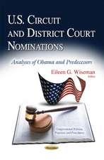 U.S. Circuit & District Court Nominations