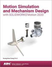 Motion Simulation and Mechanism Design with SOLIDWORKS Motion 2020