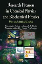 Research Progress in Chemical Physics & Biochemical Physics