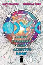 ODY-C Coloring and Activity Book