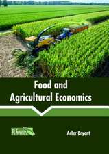 Food and Agricultural Economics