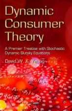 Dynamic Consumer Theory