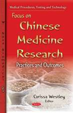 Focus on Chinese Medicine Research