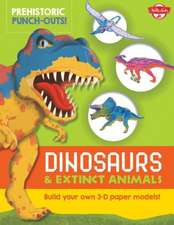 Prehistoric Punch-Outs:  Build Your Own 3-D Paper Models!