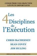 Les 4 Disciplines de L'Execution