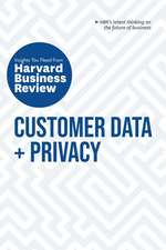 Customer Data and Privacy