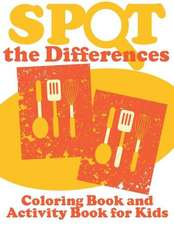 Spot the Differences (Coloring Book and Activity Book for Kids)