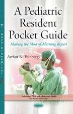 Pediatric Resident Pocket Guide