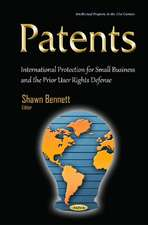 Patents: International Protection for Small Business & the Prior User Rights Defense