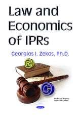 Law & Economics of IPRs