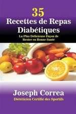 35 Recettes de Repas Diabétiques