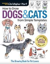 How to Draw Dogs & Cats from Simple Templates