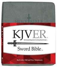 Kjver Sword Study Bible Giant Print Charcoal Grey Ultrasoft