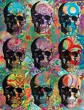 Dean Russo Skull Mosaic Journal