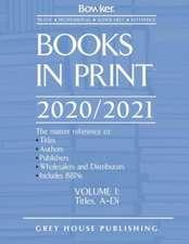 Books in Print - 7 Volume Set, 2020/21
