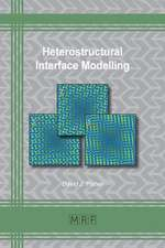 Heterostructural Interface Modelling