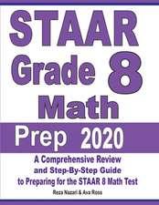 STAAR Grade 8 Math Prep 2020