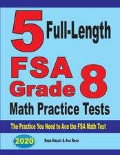 5 Full-Length FSA Grade 8 Math Practice Tests
