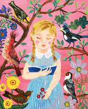 Girl Who Reads to Birds 500-Piece Puzzle