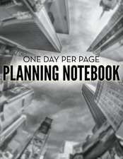 One Day Per Page Planning Notebook