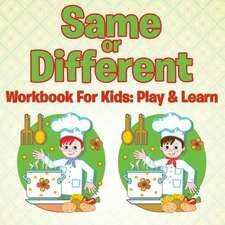 Same or Different Workbook For Kids
