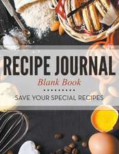 Recipe Journal Blank Book