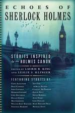Echoes of Sherlock Holmes – Stories Inspired by the Holmes Canon