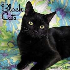 Just Black Cats 2018 Wall Calendar