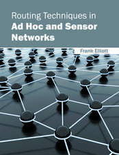 Routing Techniques in Ad Hoc and Sensor Networks