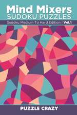Mind Mixers Sudoku Puzzles Vol 1