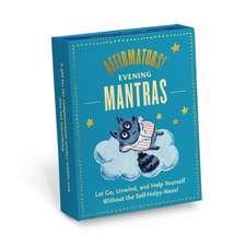 Knock Knock Affirmators! Mantras (Evening) Card Deck