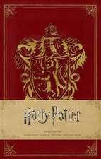 Harry Potter, Gryffindor Hardcover Ruled Notebook