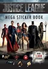 Justice League Mega Sticker Book