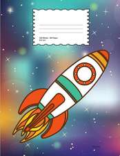 Rocket: School Supplies Composition Book and Journal for Kids