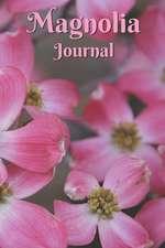 Magnolia Journal: Large Blooming Pink Magnolia Flowers