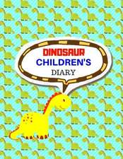Dinosaur Children's Diary: For Kids Ages 4-8 Childhood Learning, Preschool Activity Book 100 Pages Size 8.5x11 Inch