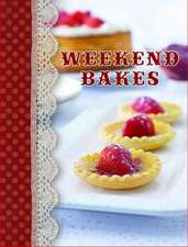 Shopping Recipe Notes:  Weekend Bakes