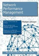 Network Performance Management