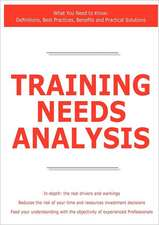 Training Needs Analysis - What You Need to Know