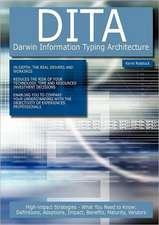 Dita - Darwin Information Typing Architecture