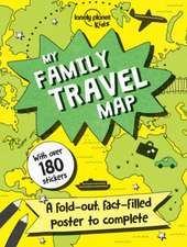 My Family Travel Map:  Spain's Most Authentic Recipes from the People That Know Them Best