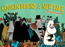Moomin Builds a New Life:  A Colouring Book by Anders Nilsen